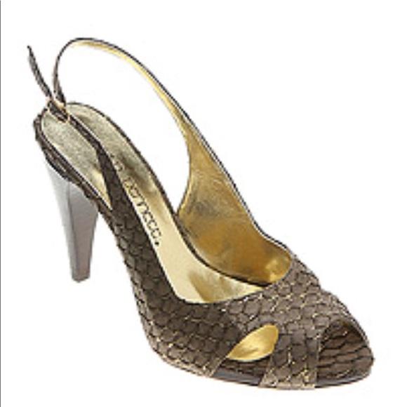 a6e78bdc84 Jessica Bennett Shoes | Jive Peeptoe Slingback Pumps10 | Poshmark